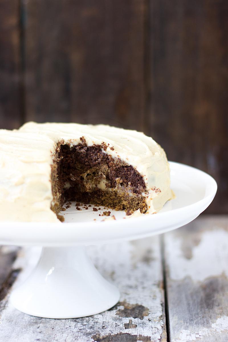 Jessica Cox Marble Birthday Cake W Creamy Frosting Gf Vegan