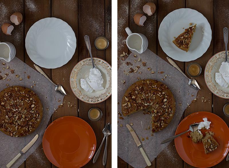 jessica cox : apple & almond breakfast cake by jessica cox