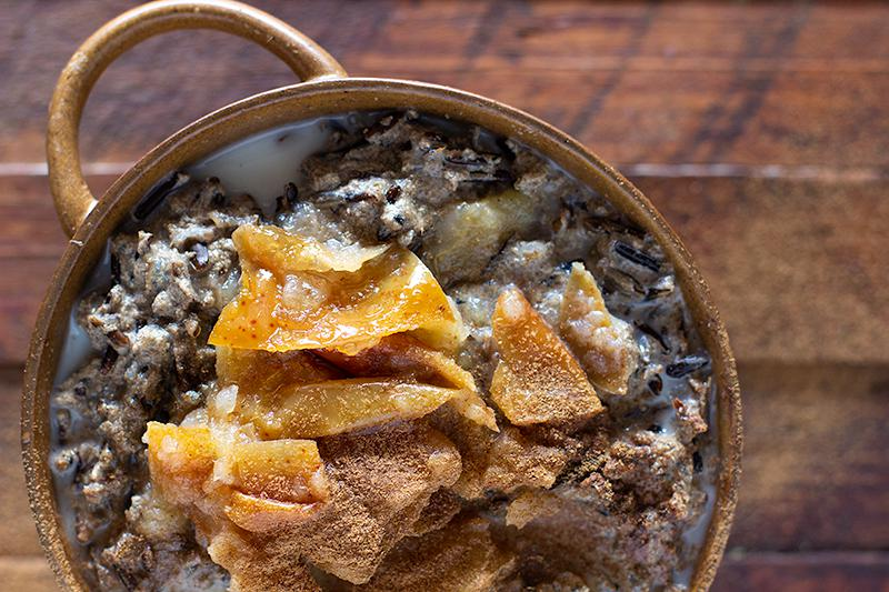 jessica cox | wild rice 'batch cooked' porridge