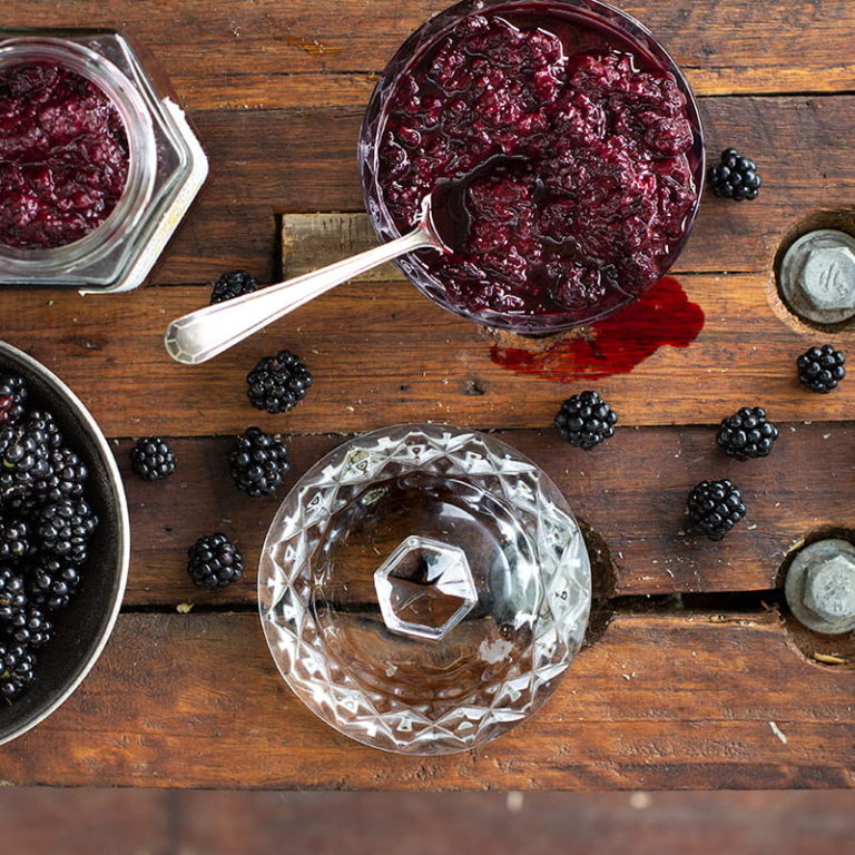 Sugar Free Blackberry Compote