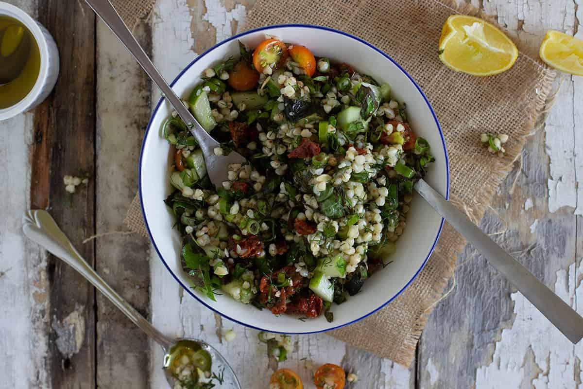 Buckwheat Tomato Dill Salad