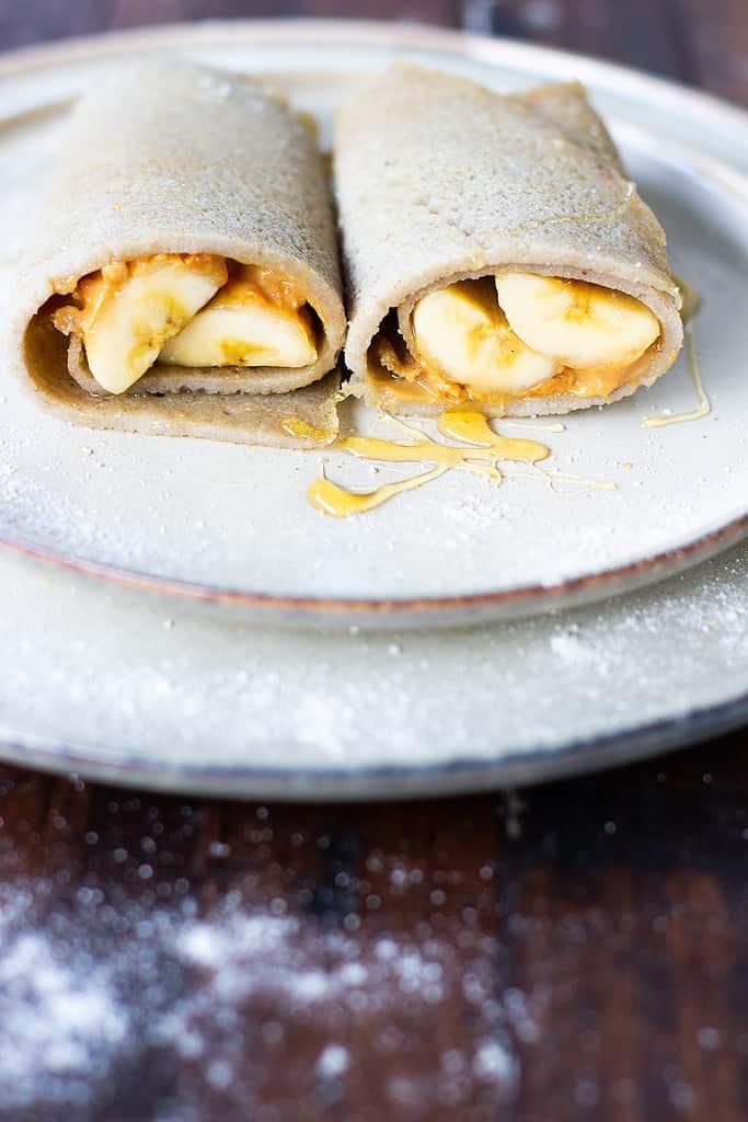 Easy Gluten Free Vegan Buckwheat Crepes