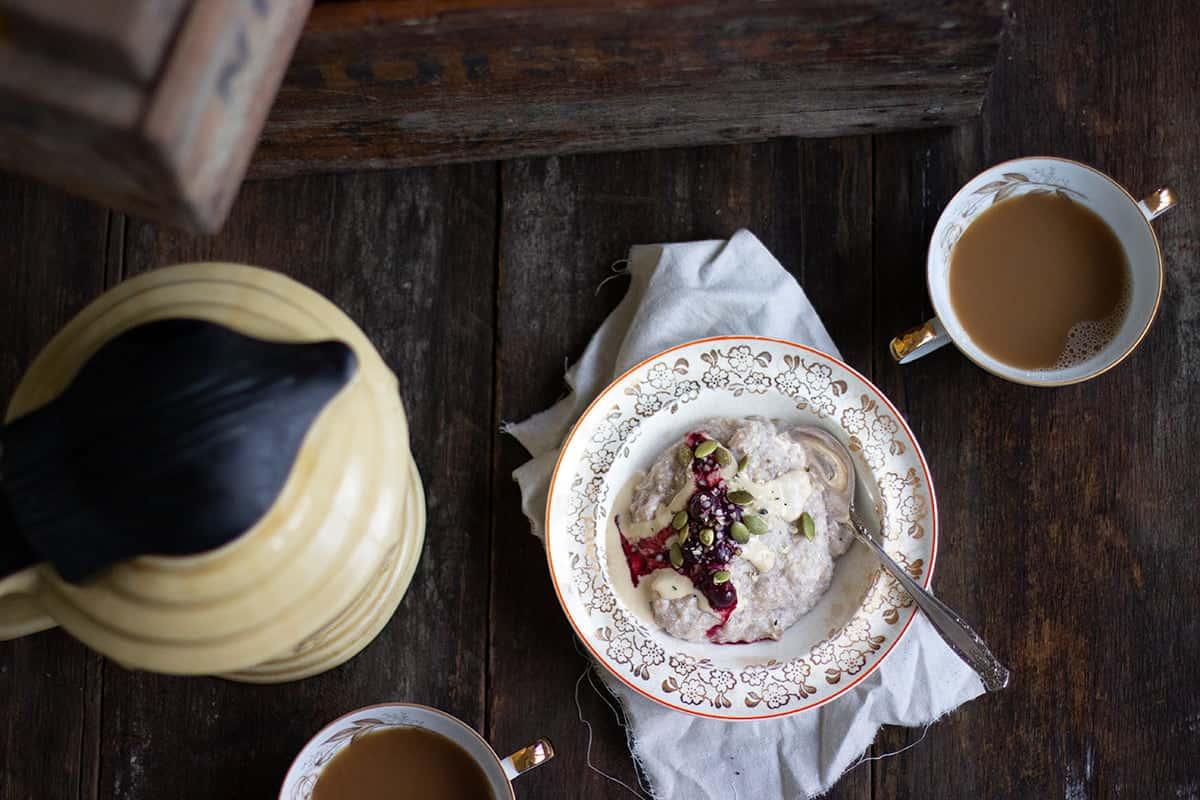 Chia Banana Porridge