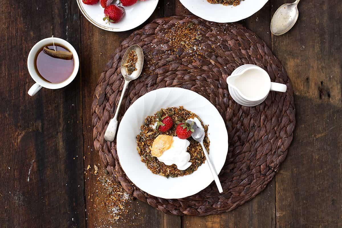 gluten free cinnamon coconut granola recipe