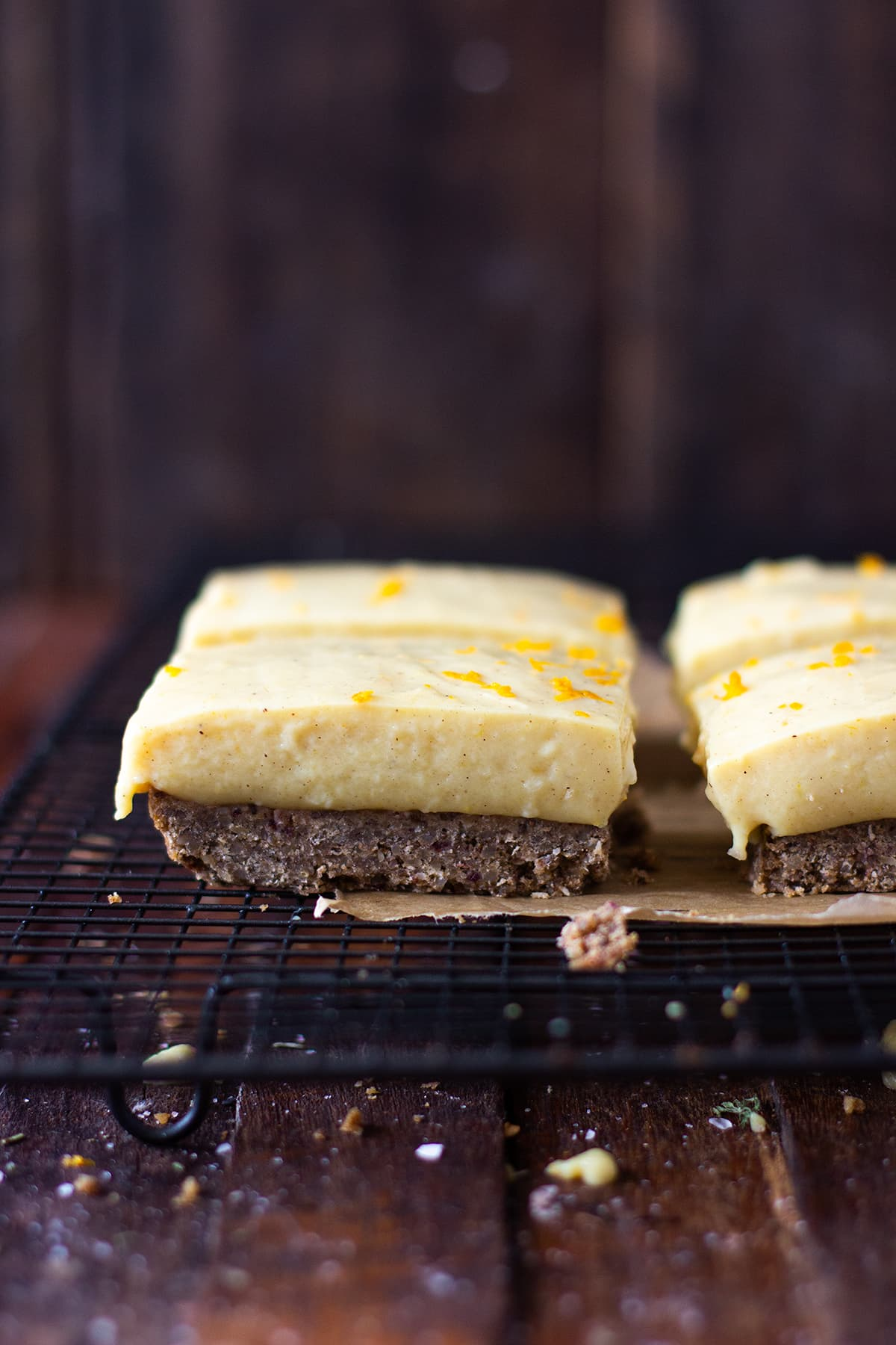 healthy dairy free lemon slice
