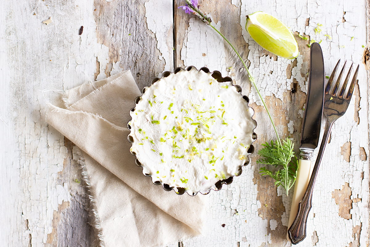 Lime & Coconut Tarts