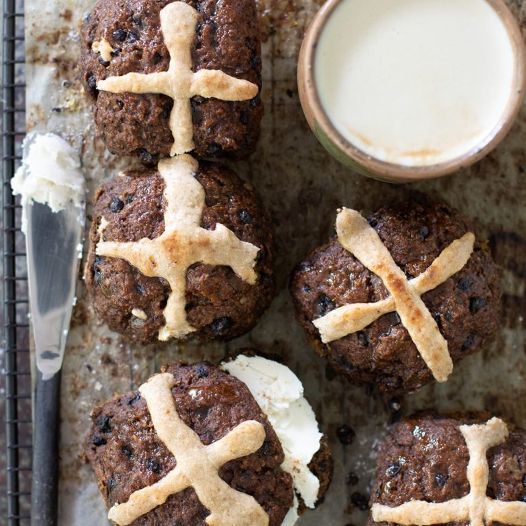 Gluten Free Vegan Hot Cross Buns