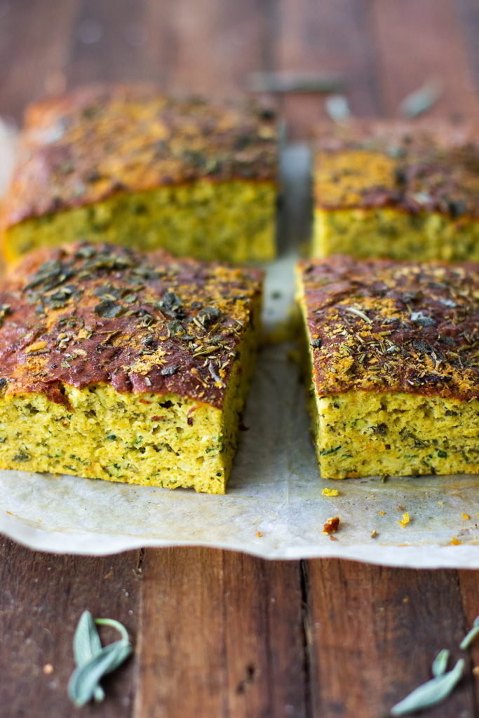 gluten free zucchini slice recipe