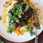 texan style pulled beef brisket