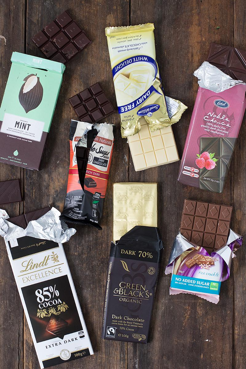 jessica cox | the best dairy free chocolate to put in your trolley