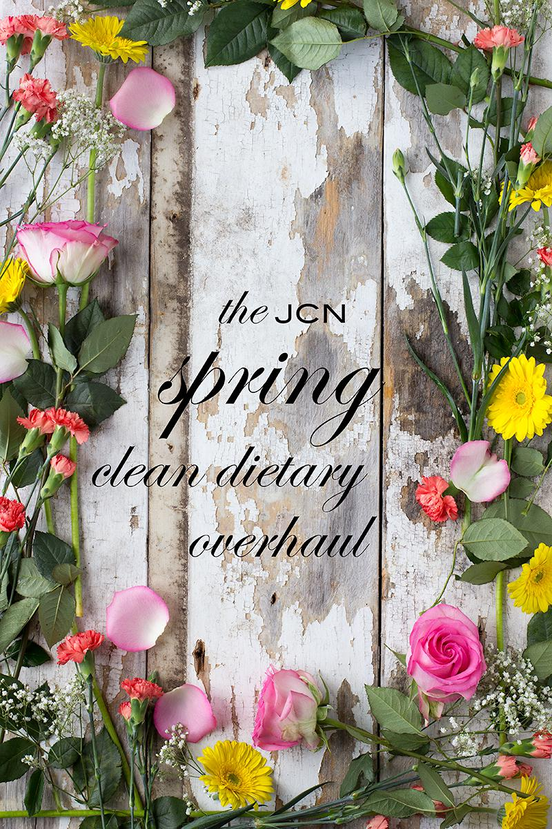 jcn spring clean dietary overhaul | jessica cox