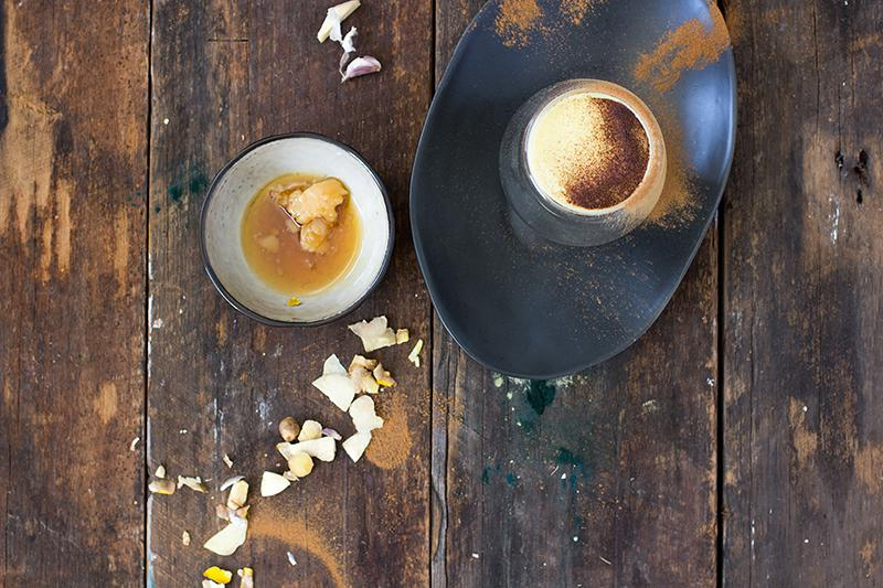 winter warming golden milk | jessica cox
