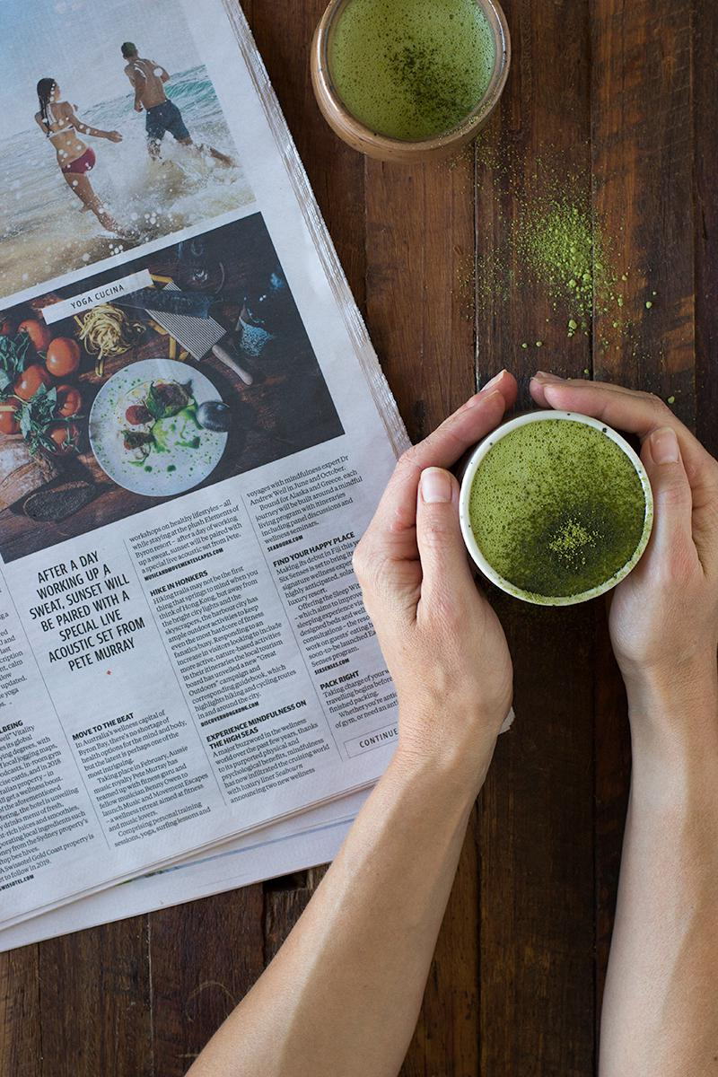 jessica cox | pimped up matcha latte