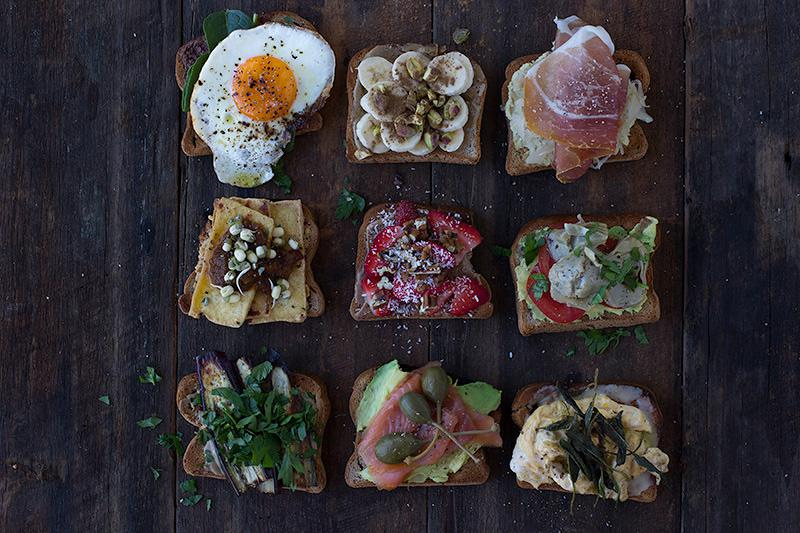 savoury toast toppers - 10 of the best