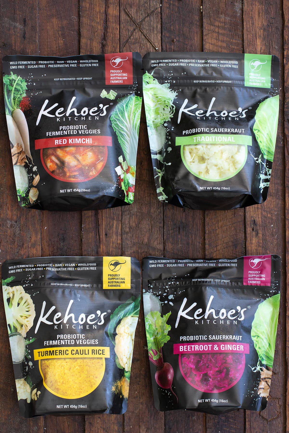 Kehoe's Kitchen Pouches