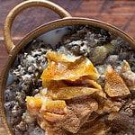wild rice 'batch cooked' porridge