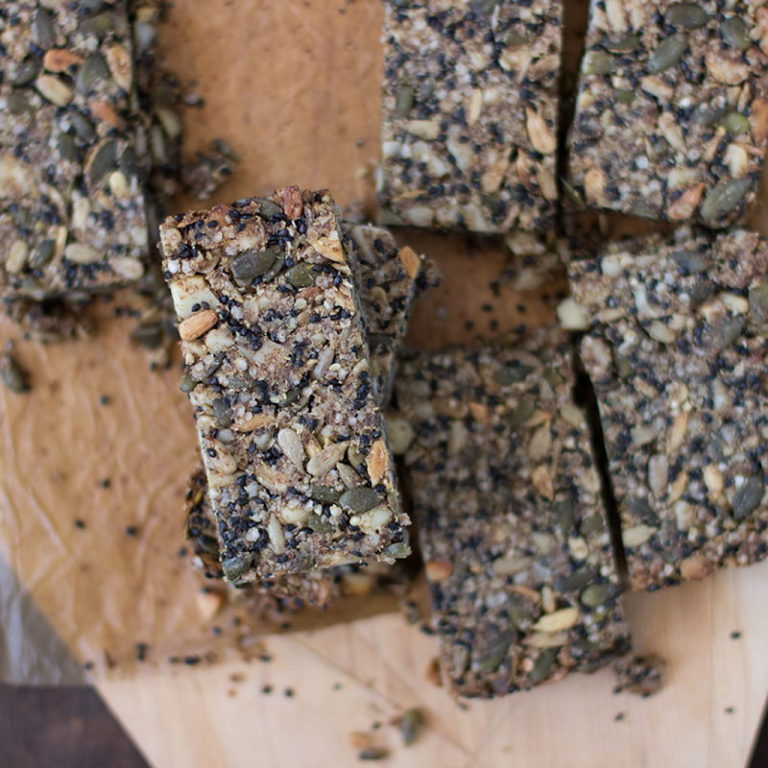salty sweet muesli bars