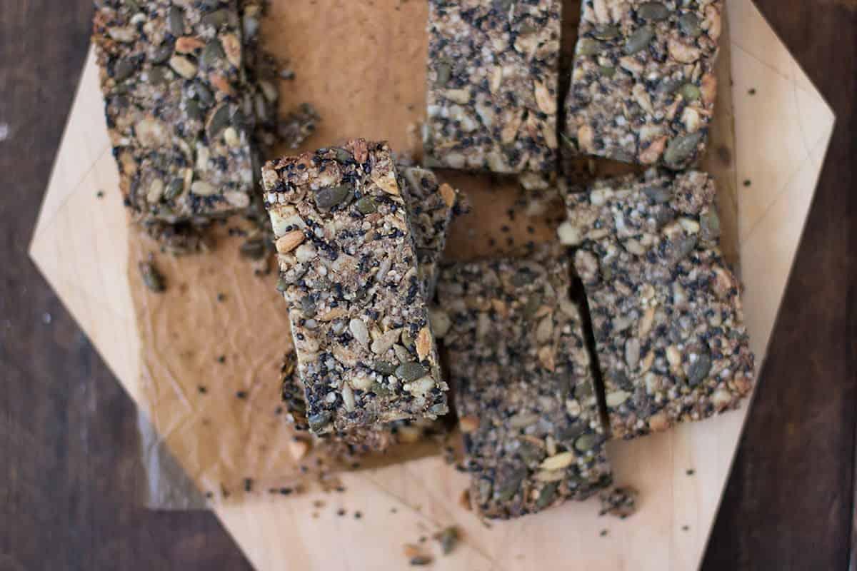 salty sweet muesli bars