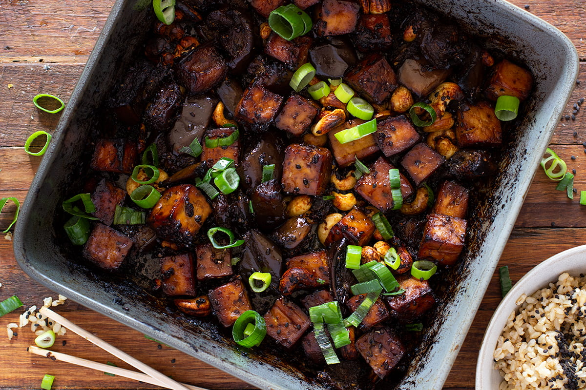 Sticky Ginger Tofu Recipe