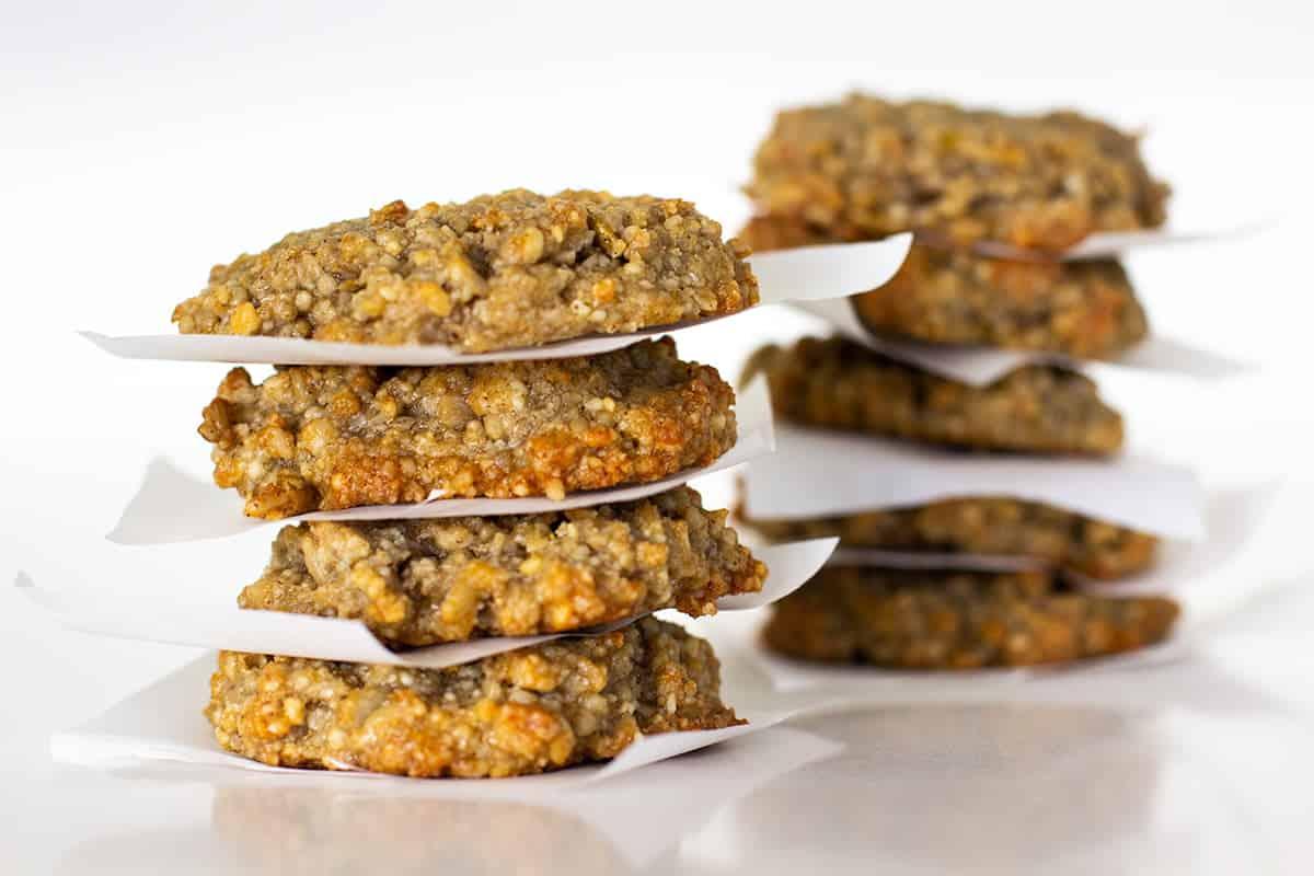 Nut Maple Vanilla Cookies