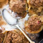 spiced pecan stuffed apples