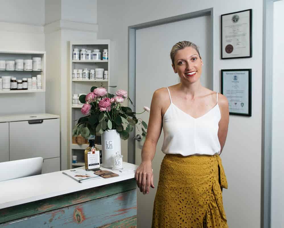 the grange nutritionist -Jessica Cox