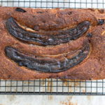vegan banana coconut bread